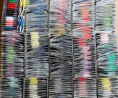 ダルマ刺し子糸:カード巻き